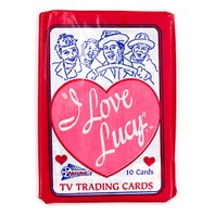I Love Lucy Vintage Trading Cards ONE Wax Pack 1991 Pacific 50's TV Lucille Ball