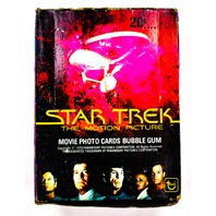 Star Trek The Motion Picture Vintage Trading Cards ONE Wax Pack 1979 Topps