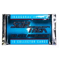 Star Trek The Next Generation Vintage Trading Cards ONE Pack 1992 Picard Data