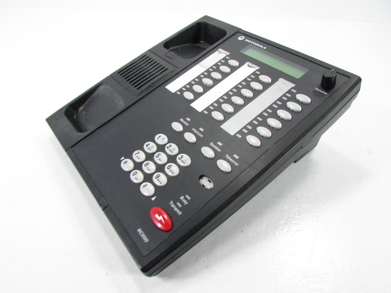 Mc1000 Deskset Installation manual