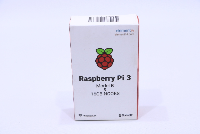 NEW RASPBERRY Pi 3 MODEL B 16GB NOOBS