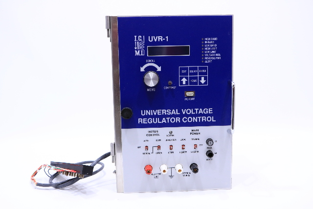 I.M.C UVR-1 UNIVERSAL VOLTAGE REGULATOR