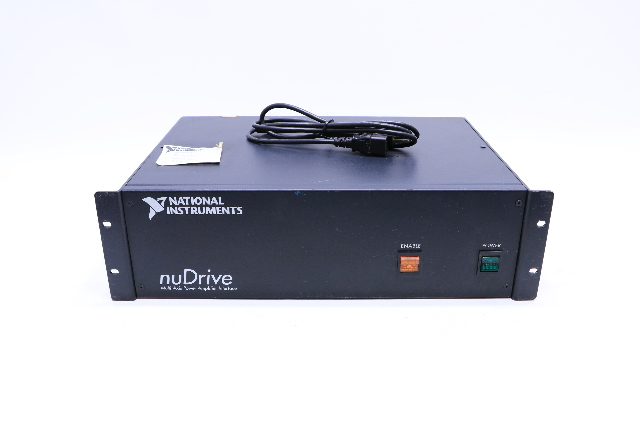 * NATIONAL INSTRUMENTS NUDRIVE  NUDRIVE-4SX-411 MULTI-AXIS POWER AMPLIFIER INTERFACE