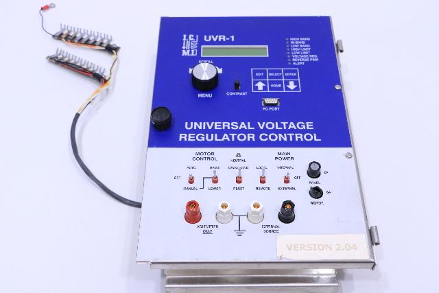 I.M.C UVR-1 UNIVERSAL VOLTAGE REGULATOR CONTROL #2