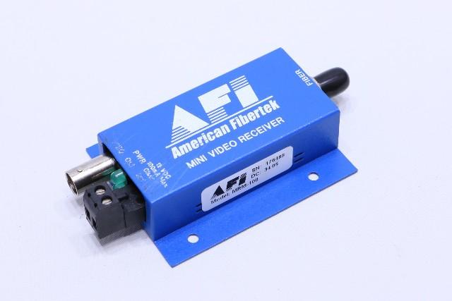AFI AMERICAN FIBERTEK MRM-100 MINI VIDEO RECEIVER
