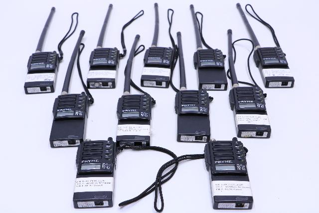 LOT OF 11 PRYME PR-45 VHF-FM TRANSCEIVER