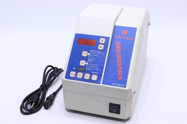 BRANSON HK TECHNOLOGIES ULTRASONICS SLPt 40:0.50:4T