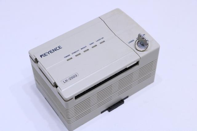 KEYENCE LK-2503 CONTROLLER CCD DISPLACEMENT SENSOR