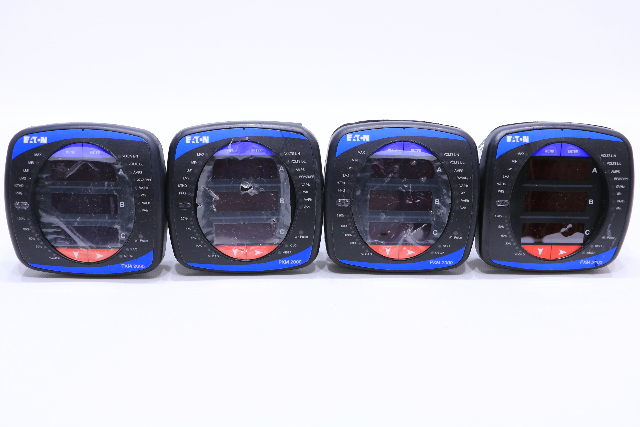 LOT OF (4) EATON PXM 2000 ELECTRONIC POWER METER