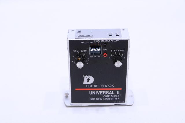 AMETEK DREXELBROOK 408-8200  UNIVERSAL II 2 WIRE TRANSMITTER LEVEL CONTROL