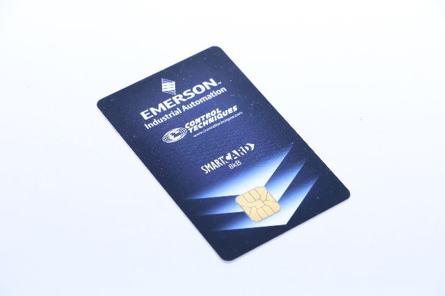 NEW EMERSON 8KB UNIDRIVE SMART CARD