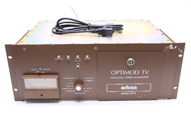 ORBAN 8185A OPTIMOD TV STEREO GENERATOR