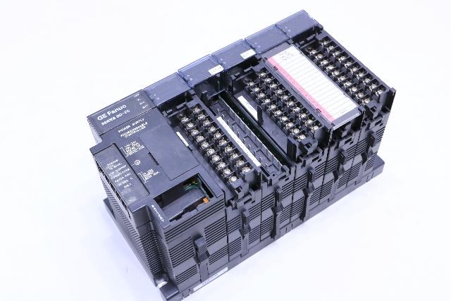 * GE FANUC 90-30 5-SLOT RACK CONTROLLER WITH MODULES IC693CPU311U