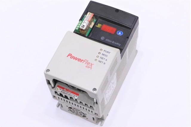 * ALLEN BRADLEY POWERFLEX 40P 22D-D2P3N104 AC DRIVE 1HP