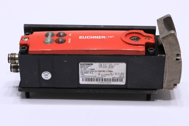 * EUCHNER CET3-AR-CRA-CH-50X-SG-110906 SAFETY SWITCH