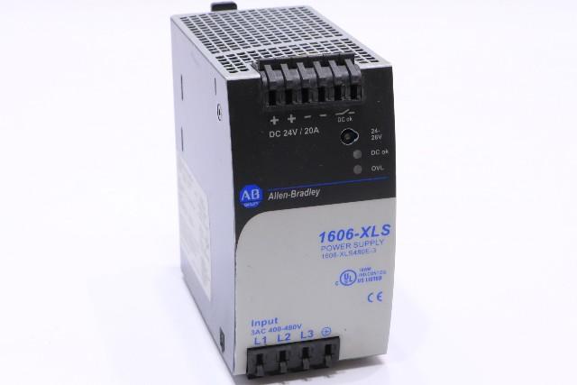* ALLEN BRADLEY 1606-XLS480E-3 SER A POWER SUPPLY