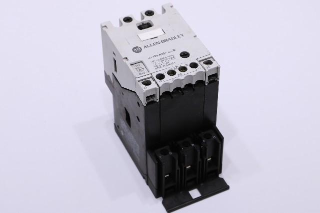 * ALLEN BRADLEY 190-A40 SER B CONTACTOR 110-120V COIL