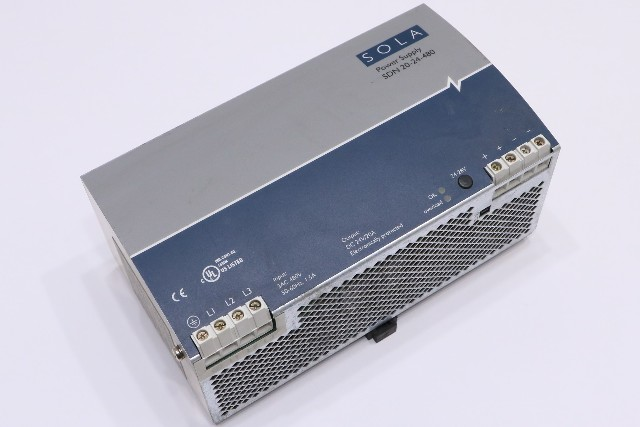 * SOLA SDN 20-24-480 POWER SUPPLY *WARRANTY*
