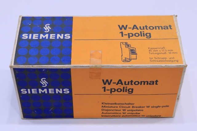 * NEW QTY. (10) SIEMENS 5SP3132 G16 W G 6A 380V CIRCUIT BREAKER W-AUTOMAT 1-POLING