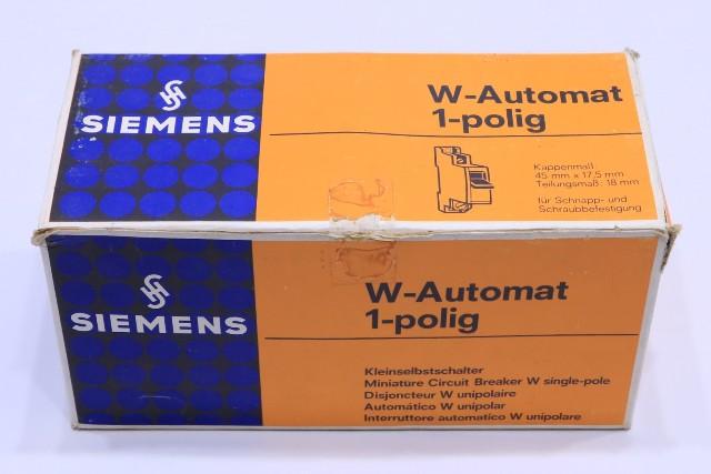 * NEW QTY. (10) SIEMENS 5SP3182 G25 W G 25A 380V CIRCUIT BREAKER W-AUTOMAT 1-POLING