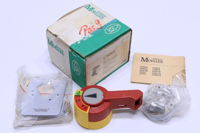 * NEW KLOCKNER MOELLER V-NZM 6 BREAKER SWITCH HANDLE