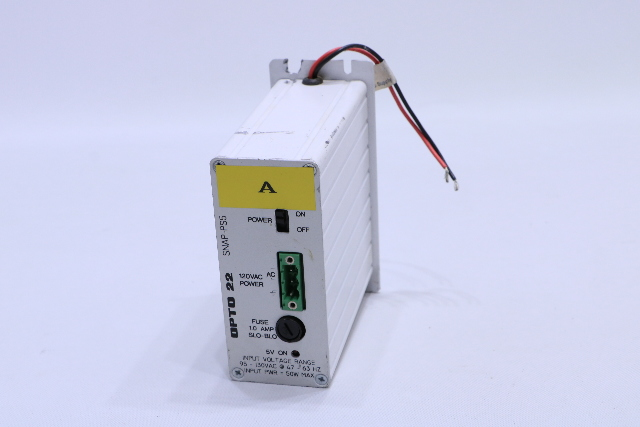 OPTO 22 SNAP-PS5 POWER SUPPLY FOR DC LOGIC 120VAC