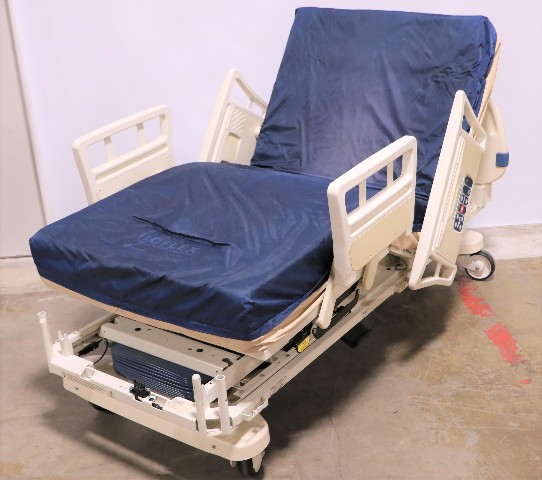 * STRYKER SECURE II 3002 HOSPITAL BED W/ ISOFLEX MATTRESS 2008