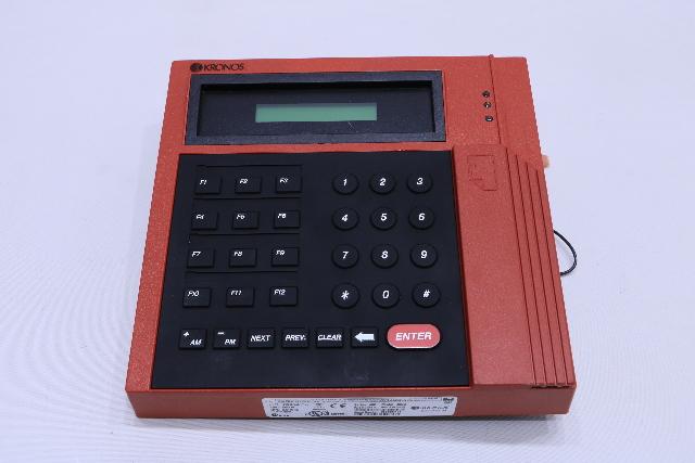 Kronos 400 Series Time Clock Model 420g 8600615-025 for sale online
