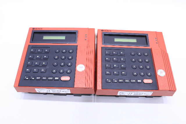 Kronos 480f Time Clock For Sale: LOT OF (2) KRONOS P/N 8600615-016 480F TIME CLOCK 12