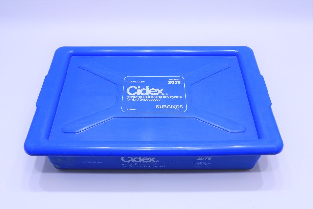 * CIDEX AUTOCLAVABLE STERILIZING DISINFECTING TRAY 2076 FOR RIGID ENDOSCOPE