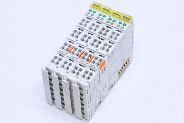 * LOT OF (4) WAGO 750-400 2-CHANNEL DIGITAL INPUT MODULE 24VDC