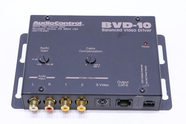 c AUDIOCONTROL BVD-10 BALANCED VIDEO DRIVER