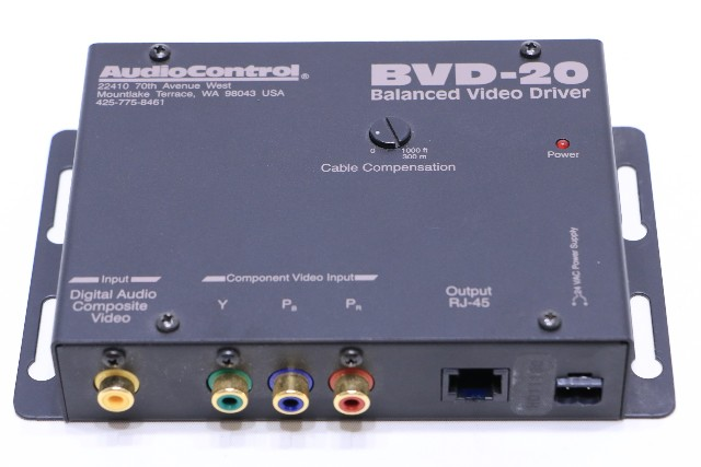 c AUDIOCONTROL BVD-20 BALANCED VIDEO DRIVER
