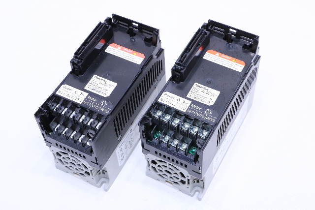 LOT OF (2) ALLEN BRADLEY 25B-D4P0N104 POWERFLEX 525 AC DRIVE
