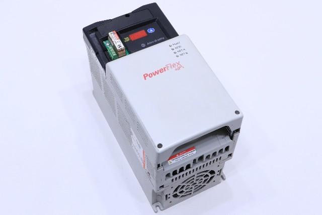 * ALLEN BRADLEY POWERFLEX 40P 22D-D024N104 DRIVE 15HP 24AMP 380-480VAC 3PHASE