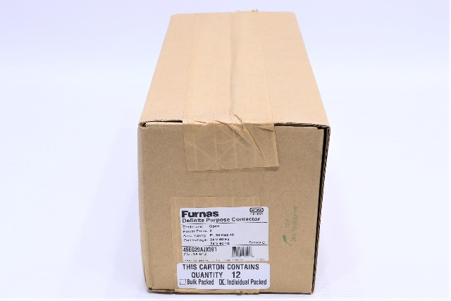 * NEW QTY.12 FURNAS 45EG20AJX591 30A 2P 24V DEFINITE PURPOSE CONTACTOR