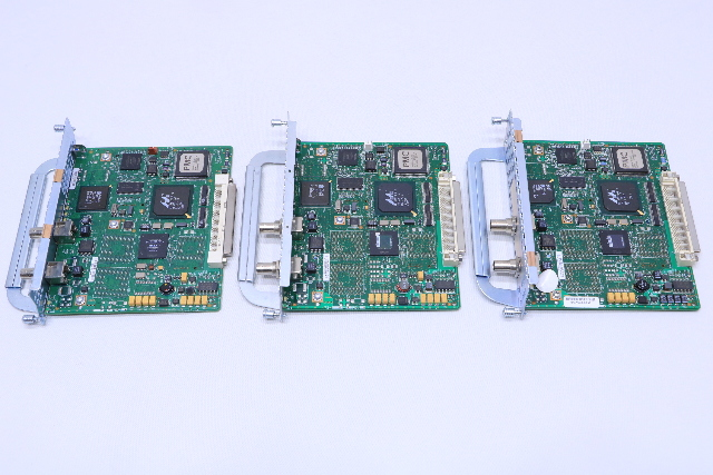 NEW LOT OF (3) CISCO NM-1T3/3E ETHERNET NETWORK MODULE