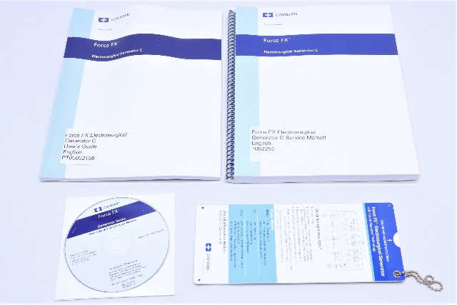 * NEW COVIDIEN FORCE FX USER GUIDE SERVICE MANUAL CD CHART