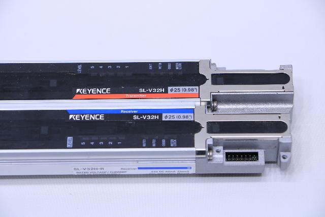 USED KEYENCE SL-V12H-R+SL-V12H-T