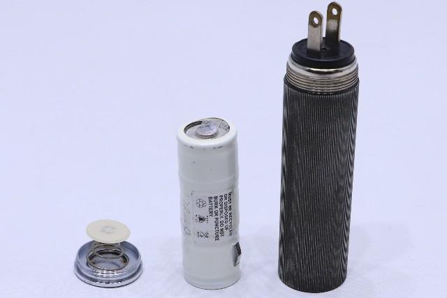 ^ WELCH ALLYN 71050 RECHARGEABLE PLUG-IN OTOSCOPE HANDLE W/ BATTERY