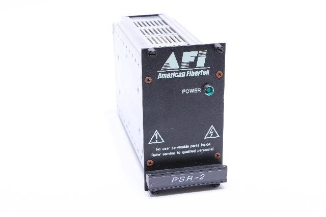 AMERICAN FIBERTEK PSR-2 SWITCHING POWER SUPPLY