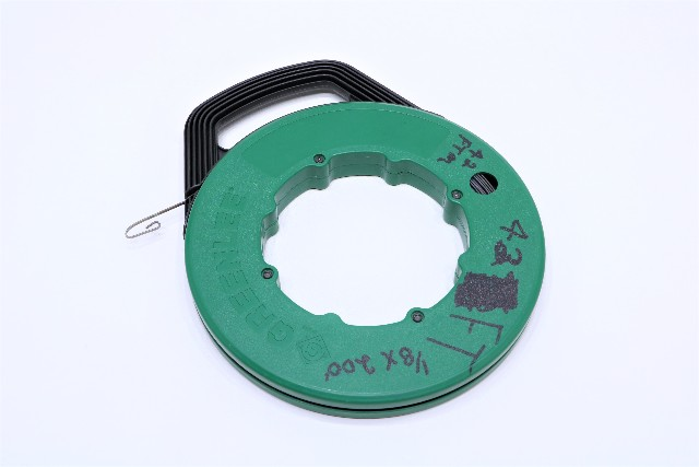 * GREENLEE 438-20 200' 1/8 STEEL FISH TAPE