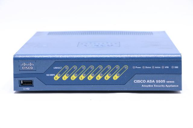 CISCO ASA 5505 ADAPTIVE SECURITY FIREWALL