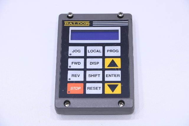 BALDOR RELIANCE DC00005A-02  KEYPAD OPERATOR PANEL CONTROL UNIT