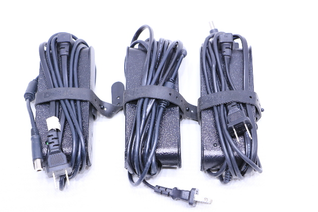 LOT OF (3) DELL LA90PS0-00 AND FA90PSO-00 POWER ADAPTER