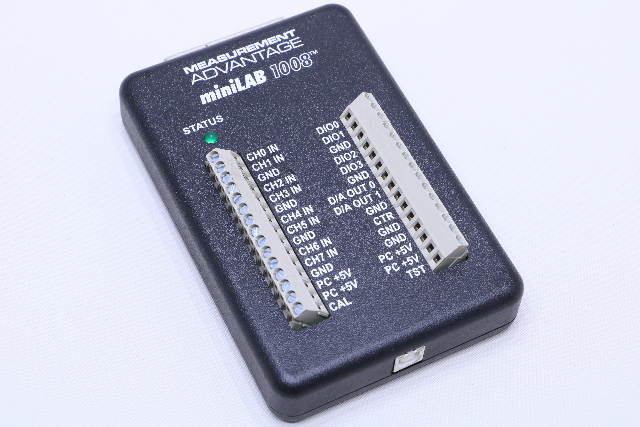 MEASUREMENT COMPUTING MINILAB1008 I/O MODULE