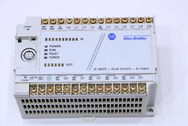 ALLEN BRADLEY 1761-L16AWA CONTROLLER MICROLOGIX-1000