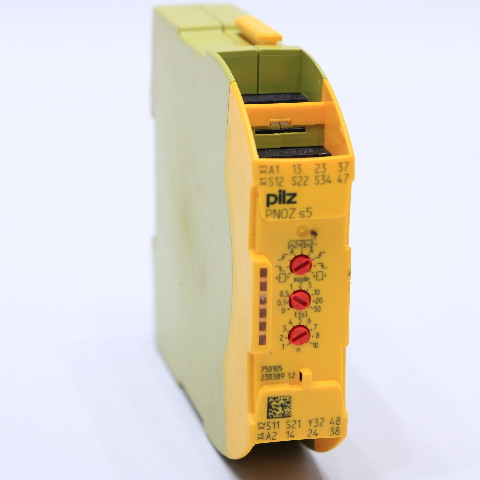 PILZ PNOZ-S5-24VDC-2N/O-2N/O-T SAFETY RELAY 750105