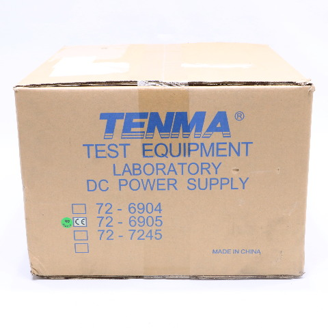 NEW TENMA 72-6905 DC POWER SUPPLY