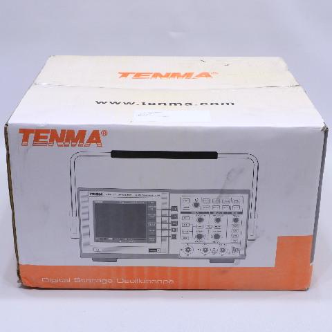 NEW TENMA 72-8380 DIGITAL STORAGE OSCILLOSCOPE 200 MHZ, 2 CHANNEL 500 MSPS